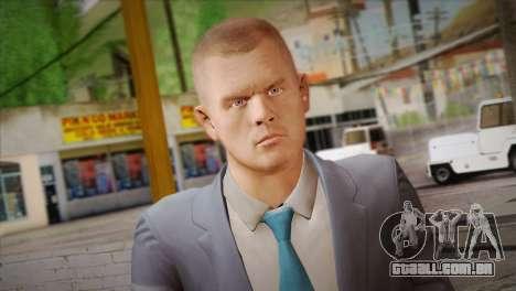 Hoxton From Pay Day 2 v2 para GTA San Andreas terceira tela