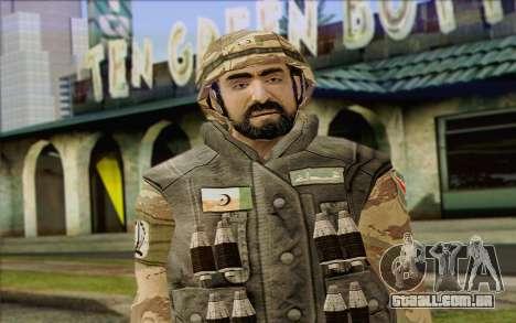 Soldados MEK (Battlefield 2) Pele 6 para GTA San Andreas terceira tela