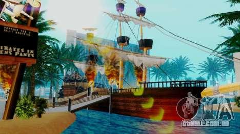 Novo navio pirata em Las Venturas para GTA San Andreas