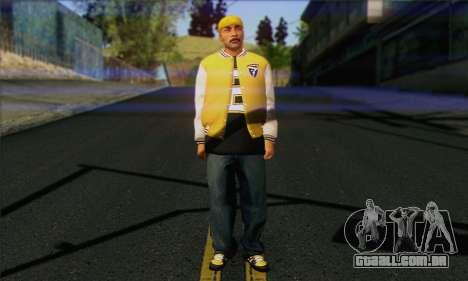 Vagos from GTA 5 Skin 3 para GTA San Andreas
