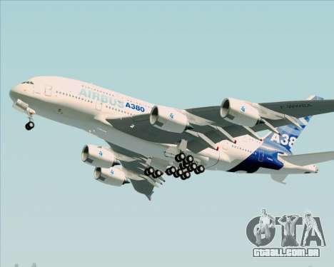 Airbus A380-861 para GTA San Andreas esquerda vista