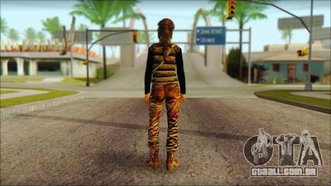 Tomb Raider Skin 1 2013 para GTA San Andreas segunda tela