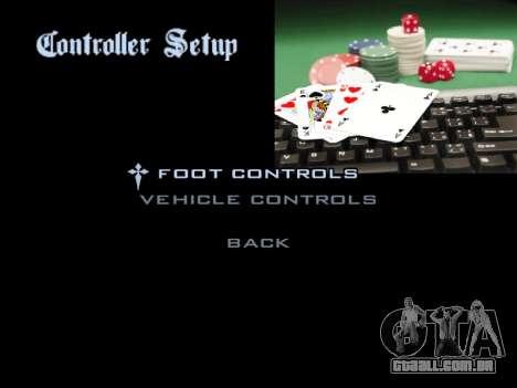 Menu Gambling para GTA San Andreas oitavo tela