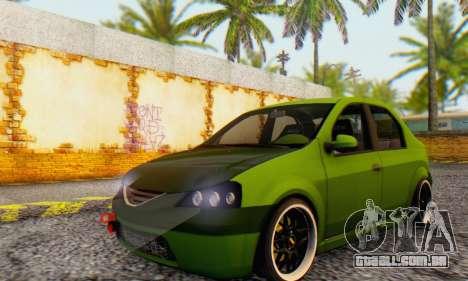 Dacia Logan MOR para GTA San Andreas