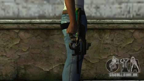 P90 from PointBlank v2 para GTA San Andreas terceira tela