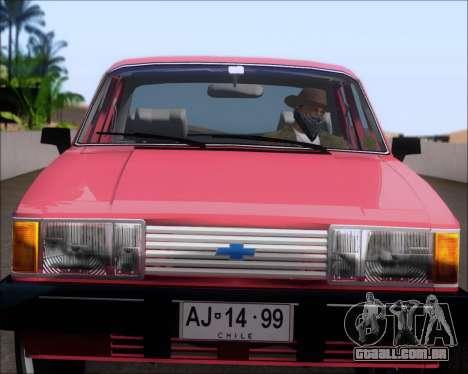 Chevrolet Opala Diplomata 1987 para GTA San Andreas vista traseira