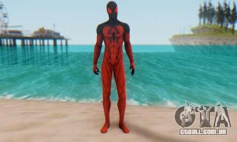 Skin The Amazing Spider Man 2 - Scarlet Spider para GTA San Andreas segunda tela