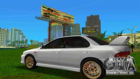 Subaru Impreza WRX STI GC8 Sedan Type 3 para GTA Vice City deixou vista