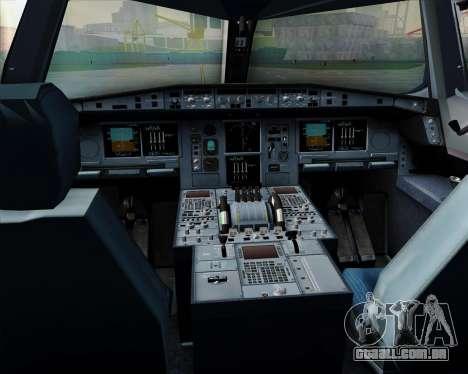 Airbus A380-800 All Nippon Airways (ANA) para GTA San Andreas interior