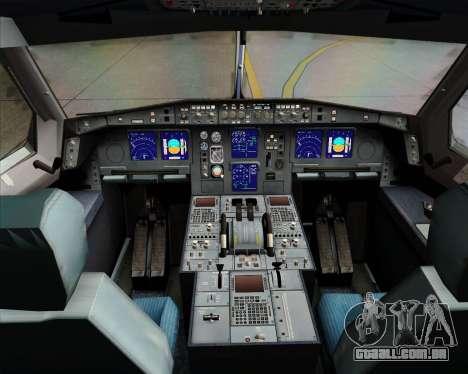 Airbus A340-313 Emirates para GTA San Andreas interior