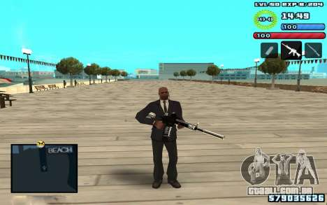C-HUD by SampHack v10 para GTA San Andreas terceira tela