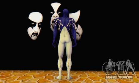 Skin The Amazing Spider Man 2 - Suit Cosmic para GTA San Andreas por diante tela
