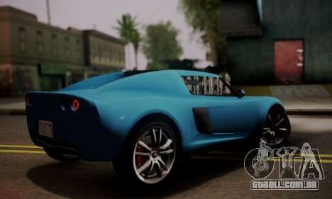 Coil Voltic from GTA 5 para GTA San Andreas esquerda vista