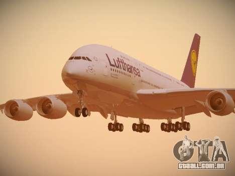 Airbus A380-800 Lufthansa para GTA San Andreas