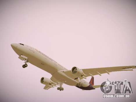 Airbus A330-300 Brussels Airlines para o motor de GTA San Andreas