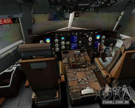 Boeing 767-300ER F TAM Cargo para GTA San Andreas interior