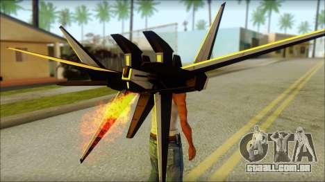 Machine Wing Jetpack para GTA San Andreas terceira tela