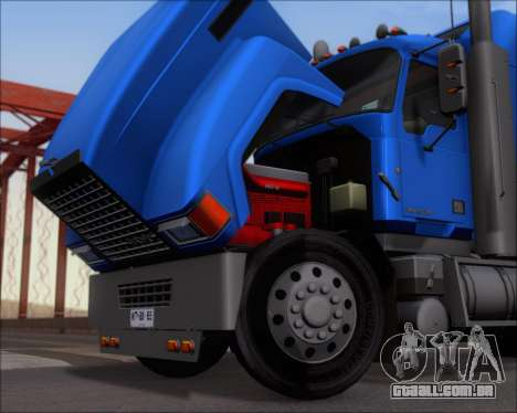 Mack Pinnacle 2006 para GTA San Andreas vista traseira