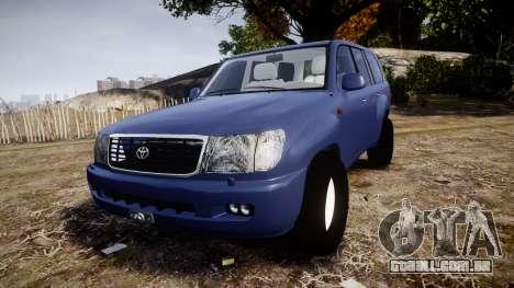 Toyota Land Cruiser para GTA 4