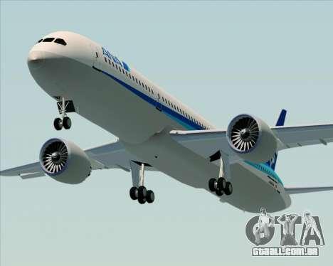 Boeing 787-9 All Nippon Airways para GTA San Andreas vista interior
