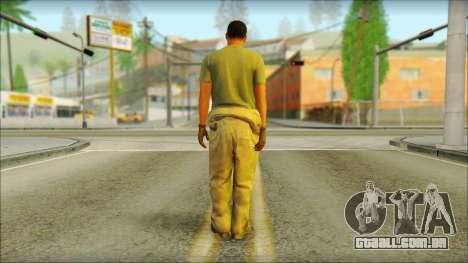 GTA 5 Soldier v3 para GTA San Andreas segunda tela