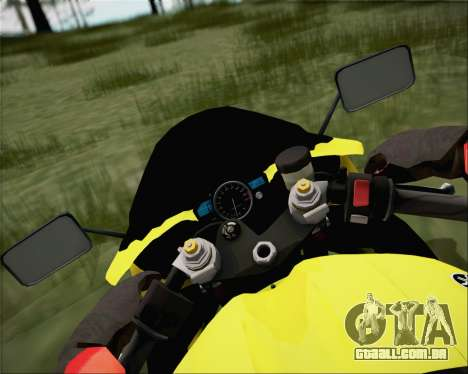 Yamaha R1 HBS Style para GTA San Andreas vista direita