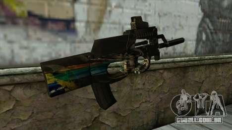 P90 from PointBlank v2 para GTA San Andreas segunda tela