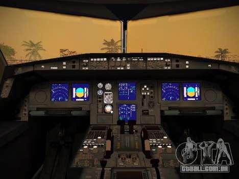 Airbus A340-300 Scandinavian Airlines para GTA San Andreas