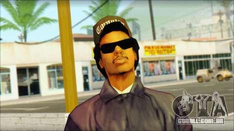 Eazy-E Blue Skin v1 para GTA San Andreas terceira tela