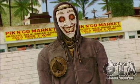 Gangster Joker (Injustiça) para GTA San Andreas terceira tela
