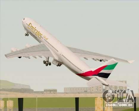 Airbus A340-313 Emirates para GTA San Andreas