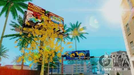 A textura, o Parque de skate e um hospital em Lo para GTA San Andreas por diante tela
