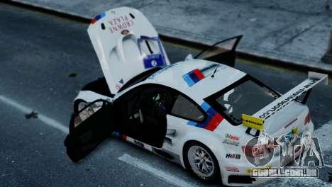 BMW M3 GT2 para GTA 4 traseira esquerda vista