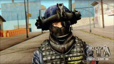 MG from PLA v3 para GTA San Andreas terceira tela