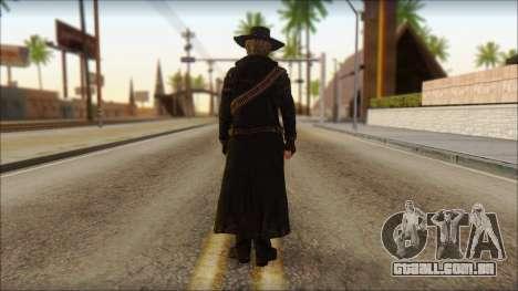 Ray McCall Gunslinger para GTA San Andreas segunda tela