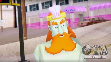 Kingnept from Sponge Bob para GTA San Andreas terceira tela