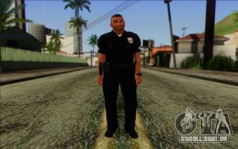 Polícia (GTA 5) Pele 4 para GTA San Andreas