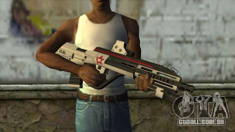 AUG A3 from PointBlank v2 para GTA San Andreas terceira tela