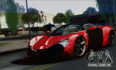 Marussia B2 para GTA San Andreas vista direita