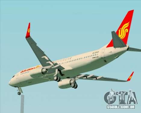 Boeing 737-89L Air China para GTA San Andreas vista superior