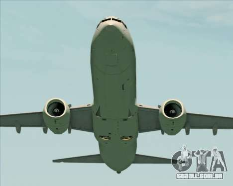 Boeing 737-89L Air China para GTA San Andreas vista inferior