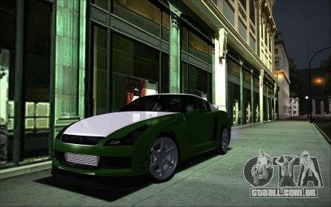 Elegy RH8 Tunable v1 para GTA San Andreas traseira esquerda vista