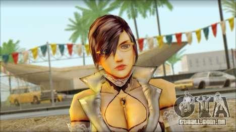 Reiko para GTA San Andreas terceira tela
