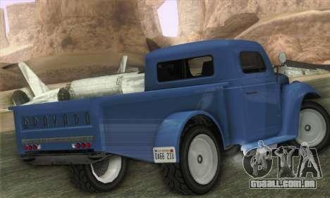 Bravado Duneloader Classic 1.0 (IVF) para GTA San Andreas esquerda vista