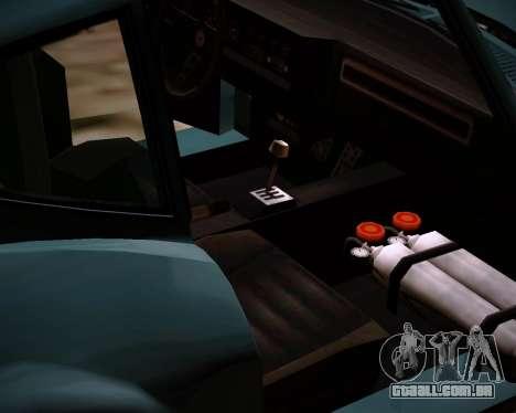 Coquette Classic GTA 5 DLC para GTA San Andreas vista direita