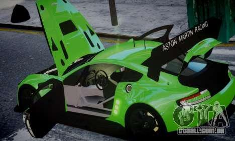 Aston Martin Vantage GTE para GTA 4 vista direita