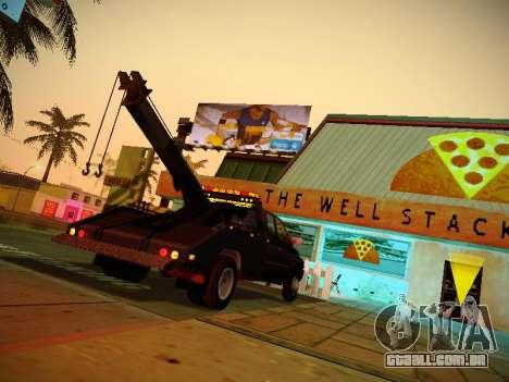 Dodge Ram Tow-Truck para GTA San Andreas vista direita