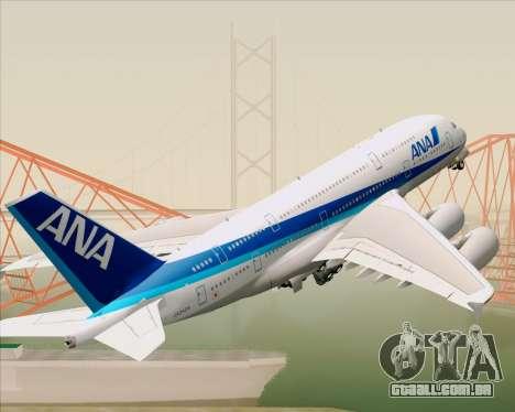 Airbus A380-800 All Nippon Airways (ANA) para GTA San Andreas