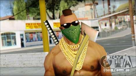 MR T Skin v11 para GTA San Andreas