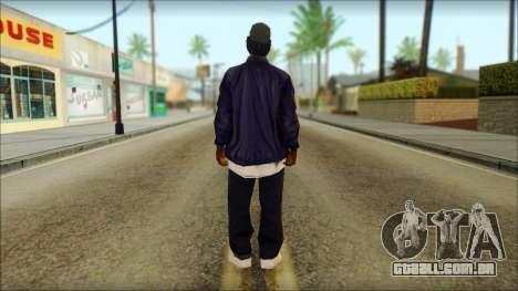 Eazy-E Blue v2 para GTA San Andreas segunda tela
